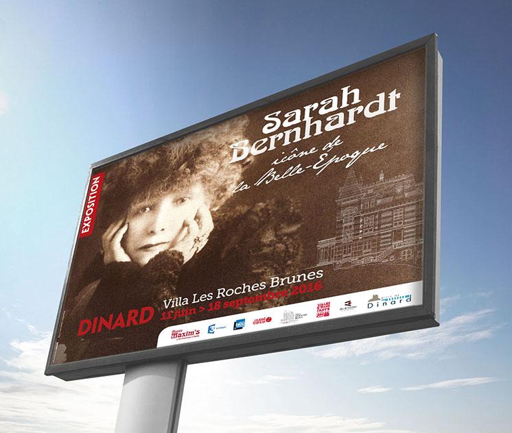 4 X 3 exposition Sarah Bernhardt ville de Dinard