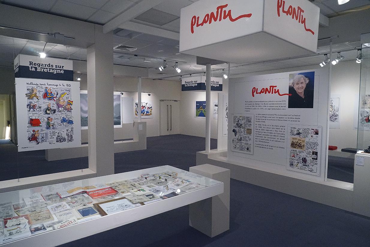 Exposition Dessins pour la paix, ville de Dinard