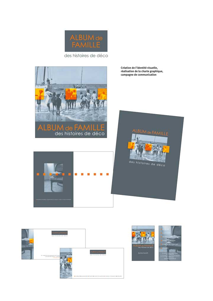 Quadrat Design Agence Communication Dinard Album De Famille