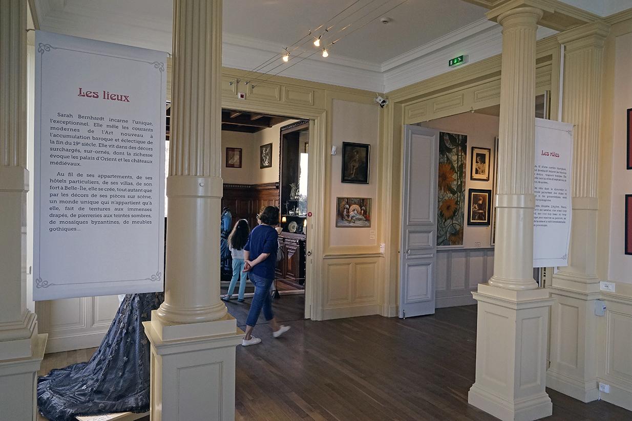 Exposition Sarah Bernhardt ville de Dinard