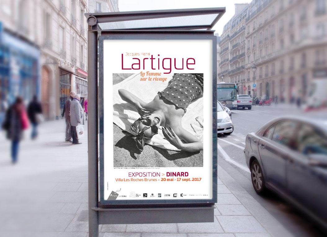 Sucette exposition Jacques-Henri Lartigue / Dinard été 2017