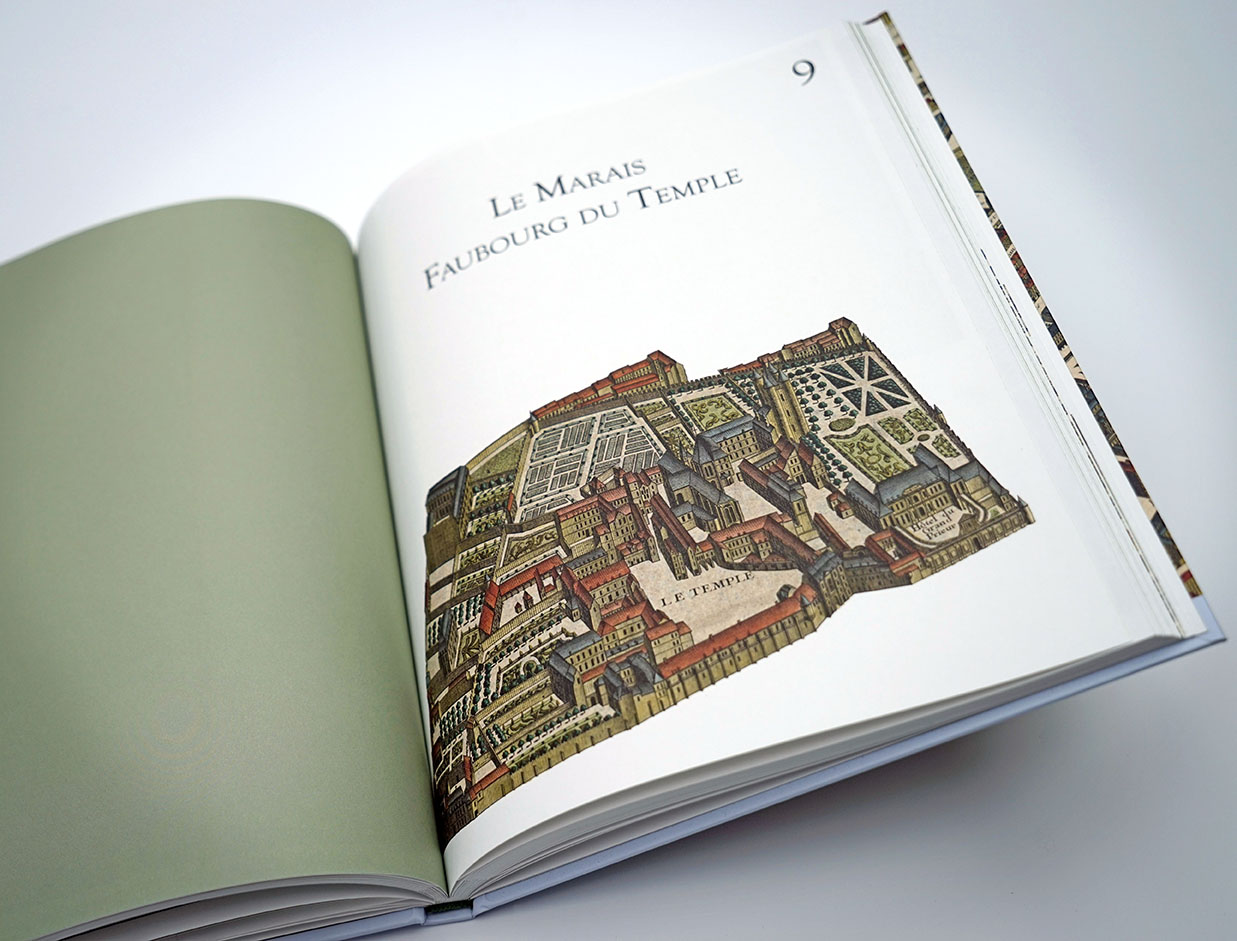 Réédition du plan Turgot de la ville de Paris
