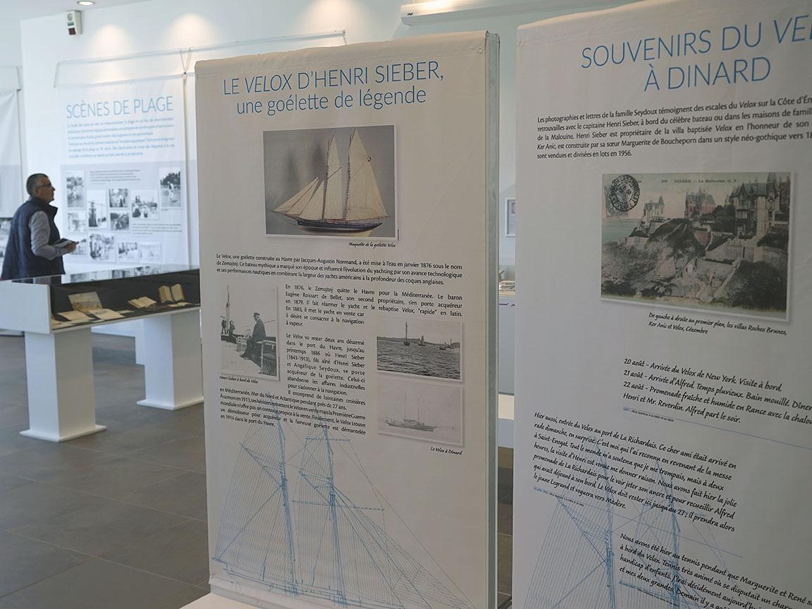 Exposition Seydoux, médiathèque de Dinard